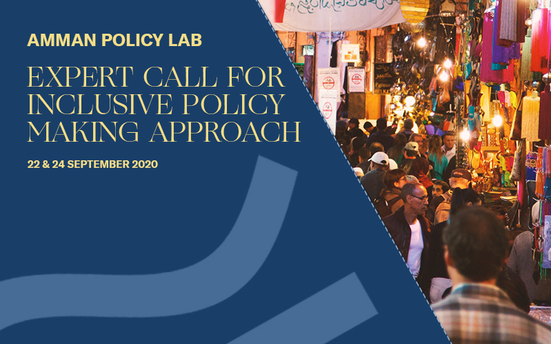 Amman Policy Lab 2020: Experts Call for Inclusive Policy Making Approaches