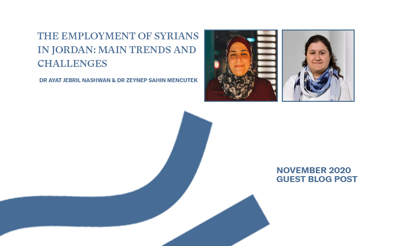 The Employment of Syrians in Jordan: Main Trends and Challenges