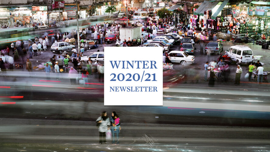 Winter 2020/21 Newsletter: Forward