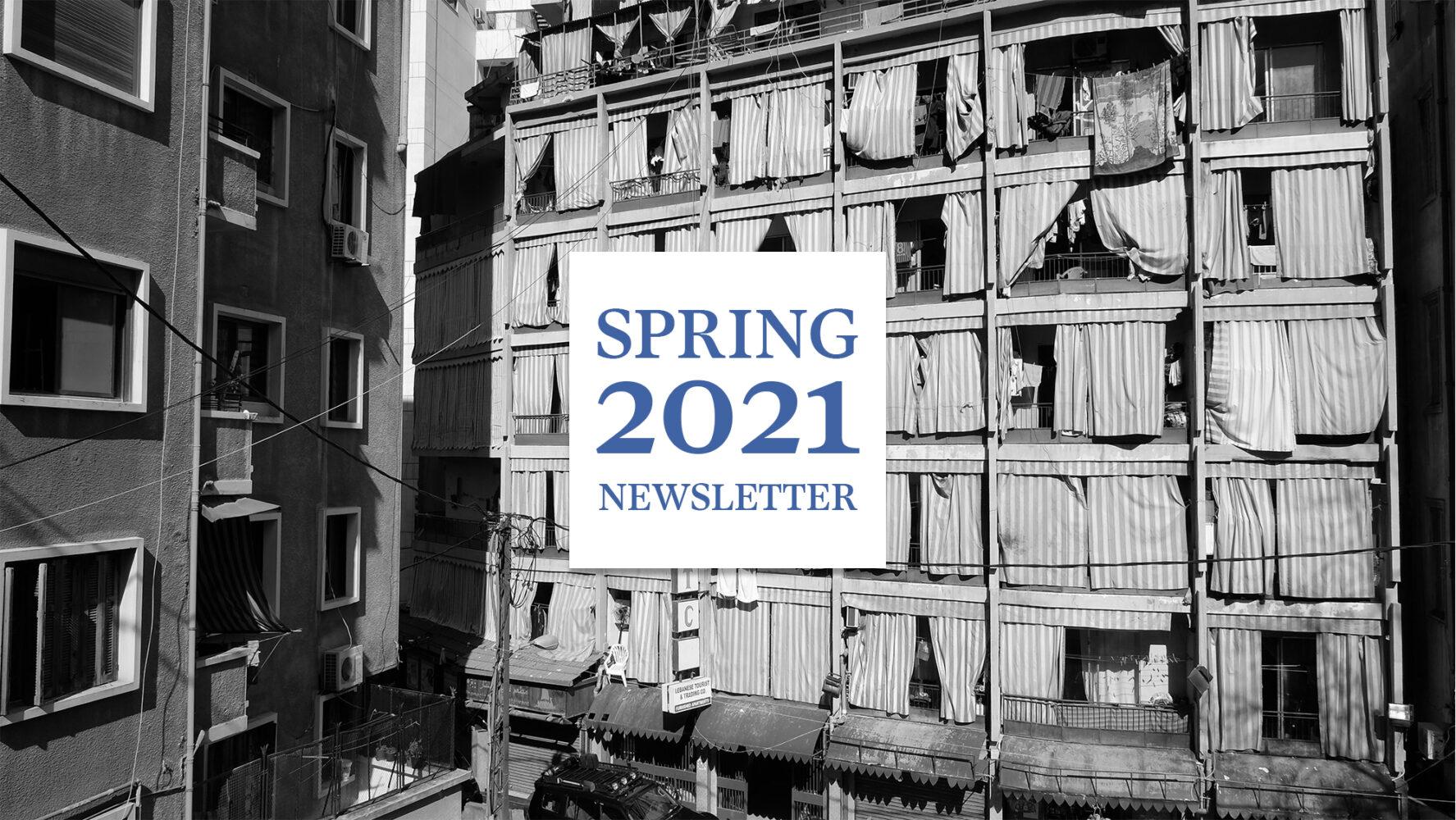Spring 2021 Newsletter: Forward