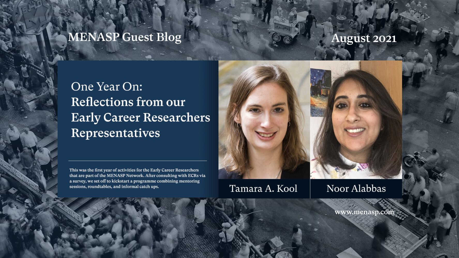 One Year On: Reflections from our Early Career Researchers Representatives