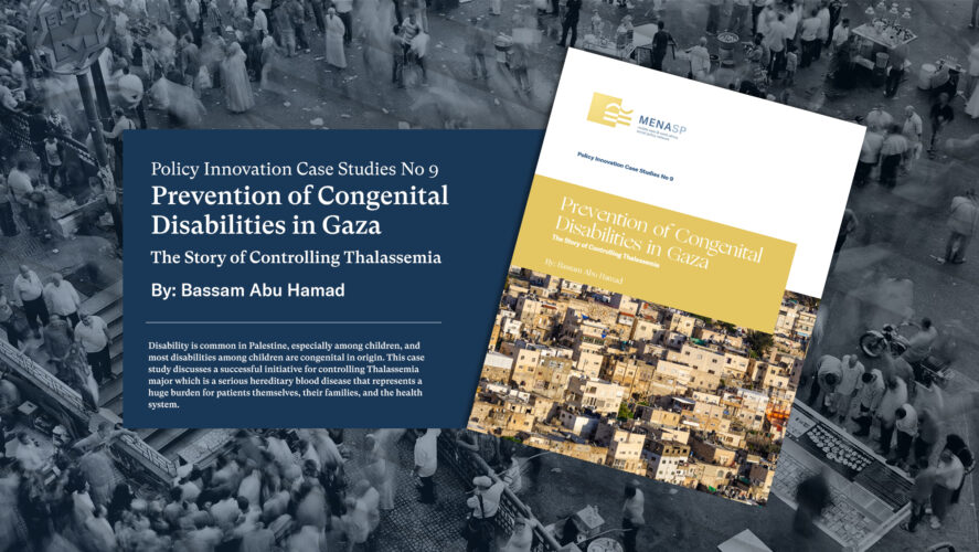 Prevention of Congenital Disabilities in Gaza: The Story of Controlling Thalassemia