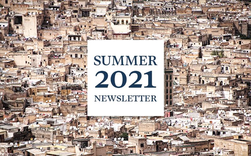 Summer 2021 Newsletter: Forward
